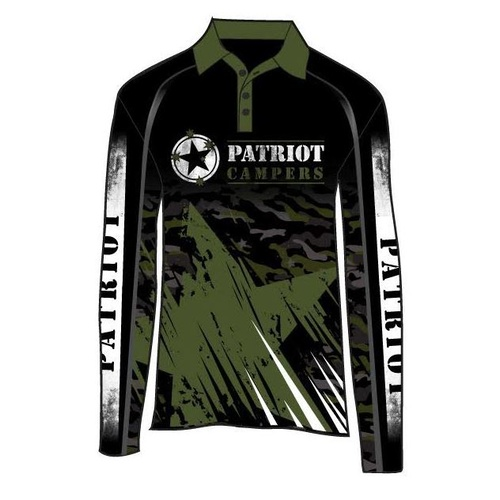 PATRIOT CAMPERS ADULTS FISHING SHIRT