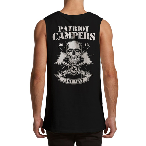 HATCHET MUSCLE TEE