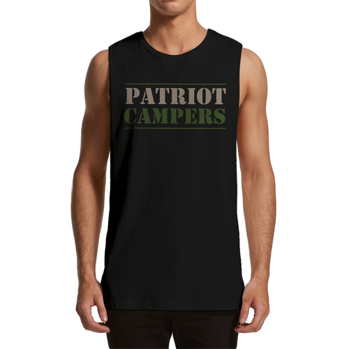 PATRIOT CAMPERS MUSCLE TEE