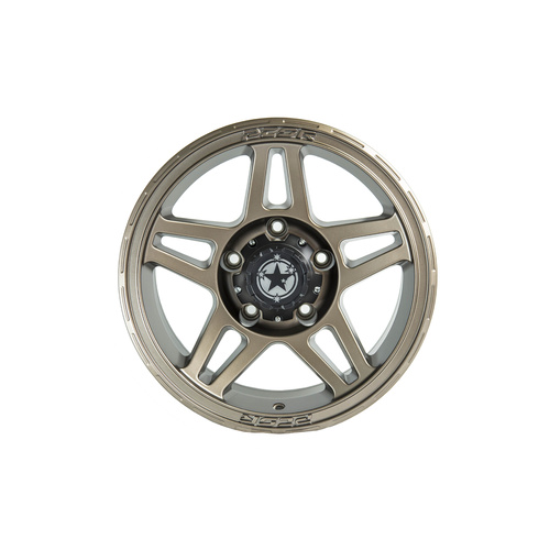 "PCOR 17"" SATIN BRONZE WHEEL 5x150 N25 **79 Series Landcruiser**"